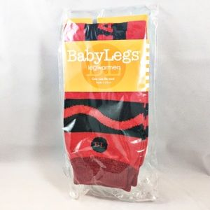 NWT Baby Legs Red Crayon